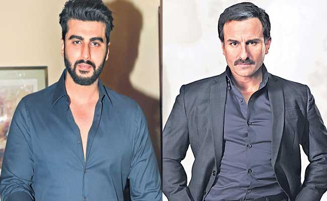 Bhoot Police Movie Coming Out With Combination Of Saif Ali Khan And Arjun Kapoor - Sakshi