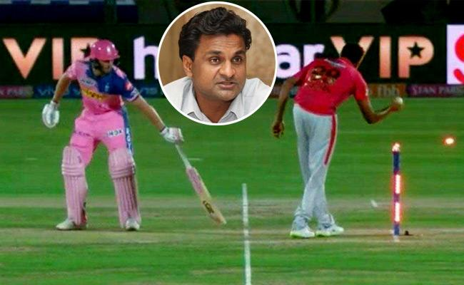Javagal Srinath Response On Mankading Says It Is Just As Run Out - Sakshi