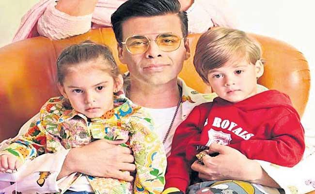 Karan Johar Writing Book For His Children - Sakshi