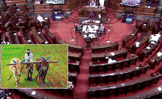 Centre moves two agriculture sector reform Bills in Rajya Sabha - Sakshi