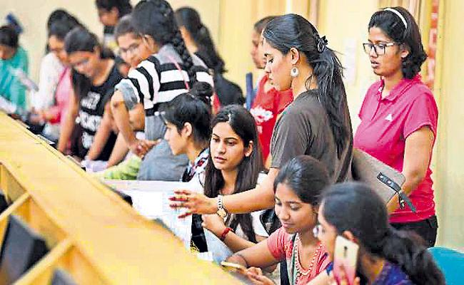 Reduced applications for JEE Advance - Sakshi