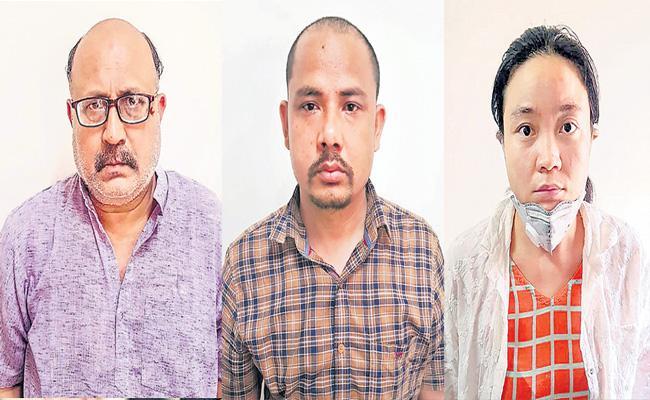 Arrested journalist Rajeev Sharma was passing sensitive information to China - Sakshi