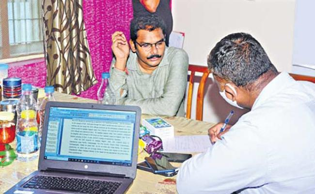 ACB Interrogates Additional Collector Nagesh, Other acuused for 6 Hrs - Sakshi