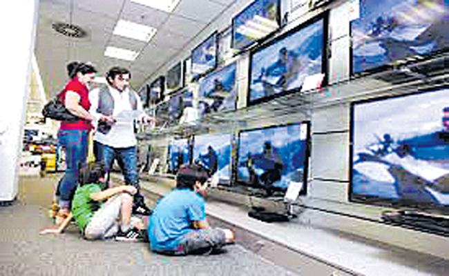 Govt to impose 5% customs duty on import of open cell for Televisions - Sakshi