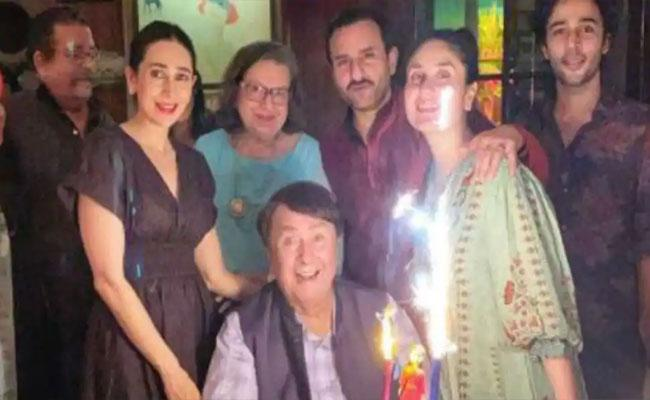 Kareena Kapoor Celebrates Her 40th Birthday With Family In Mumbai - Sakshi