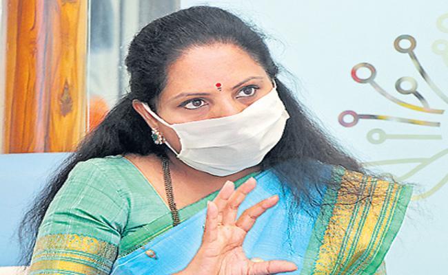 Woman Politician Kalvakuntla Kavitha Got One Million Followers In Twitter - Sakshi