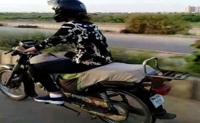 Woman Denied Two Wheeler License In Pakistan - Sakshi