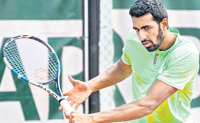Good Start By Prajnesh In French Open Grand Slam - Sakshi