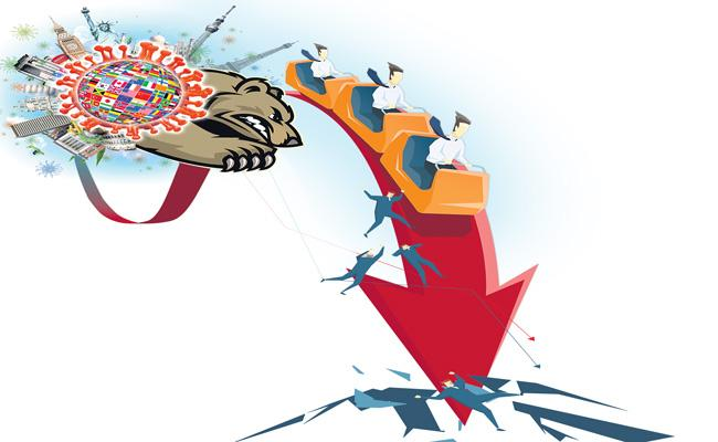 GLOBAL MARKETS-European shares fall as COVID-19 cases rise - Sakshi