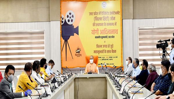 Yogi Adityanath Says Indias Biggest Film City To Be Built Near Hastinapur - Sakshi