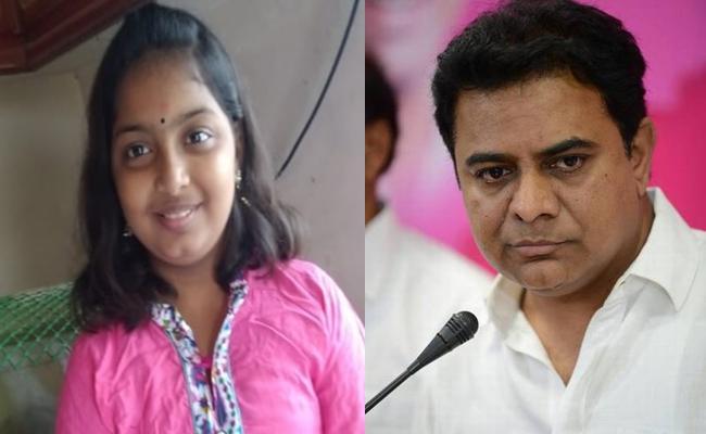 Sumedha Mother Complain To Minister KTR And Mayor - Sakshi
