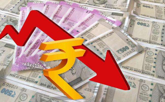 Rupee skids 20 paise to 73.58 against US dollar - Sakshi
