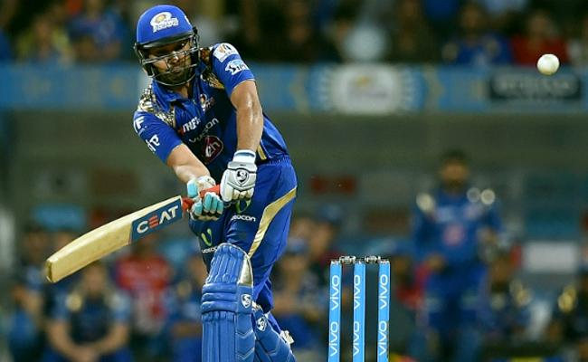 Rohith Sharma Bags With Sixes Leads To Big Score For Mumbai Indians - Sakshi