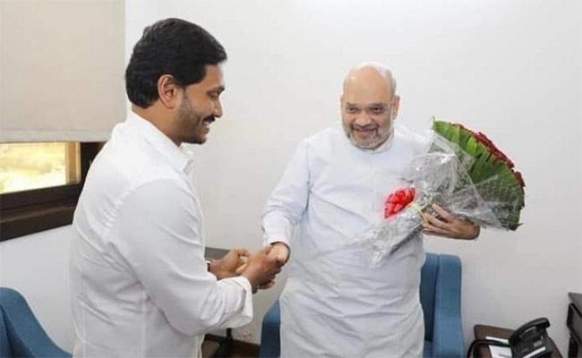 AP CM YS Jagan Mohan Reddy meets Again Union Home Minister Amit Shah - Sakshi