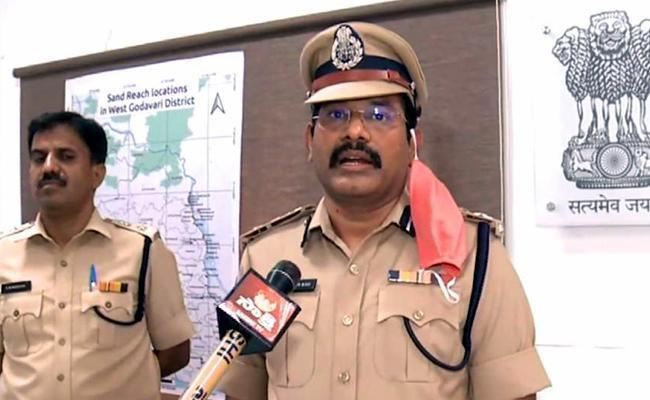 Eluru Range DIG Comments Over Mandapeta Incident - Sakshi