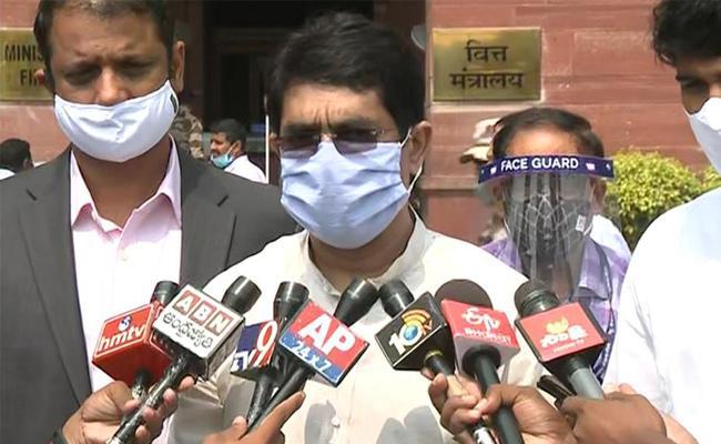 Buggana Rajendranath Met With Nirmala Sitharaman In Delhi For AP Benfits - Sakshi