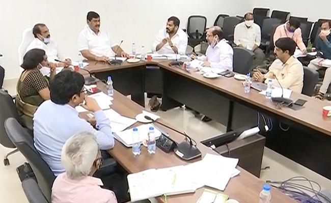 AP Cabinet Sub Committee Meeting On Revenue Land Reforms - Sakshi