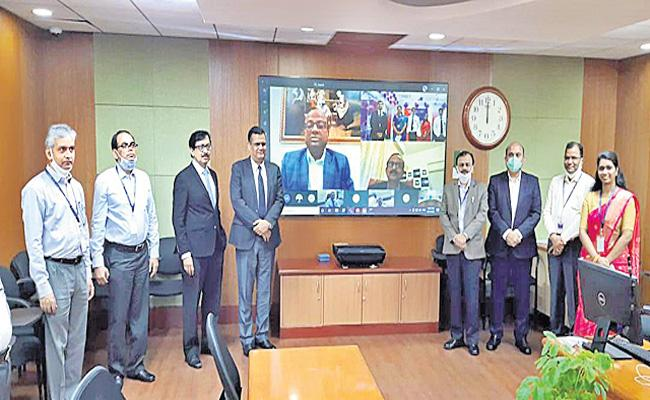 SBI launches YONO branches in Hyderabad - Sakshi