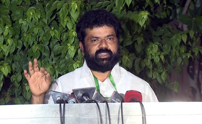 Nandigam Suresh Complain To Raghu Rama Krishnaraju To Speaker - Sakshi