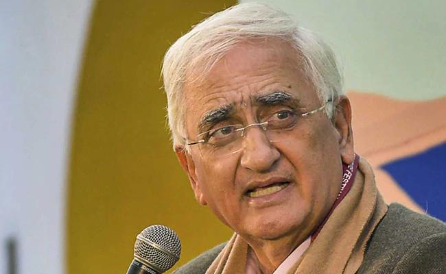 Congress Leader Salman Khurshid Named In Delhi Riots Chargesheet - Sakshi