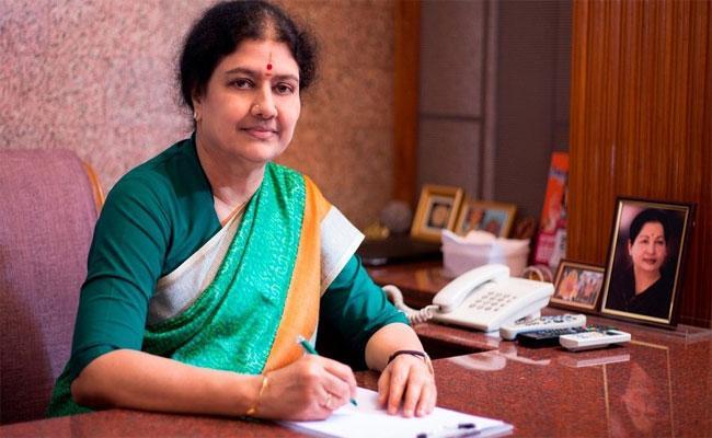 Sasikala Writes To Prison Authorities Says Dont Reveal Release Date - Sakshi