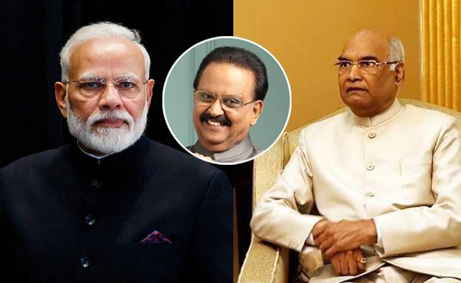 SP Balu Demise: President Kovind, PM Modi Condolences - Sakshi