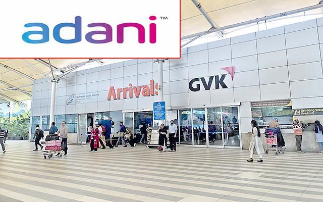 Adani-GVK airport deal gets CCI green signal - Sakshi