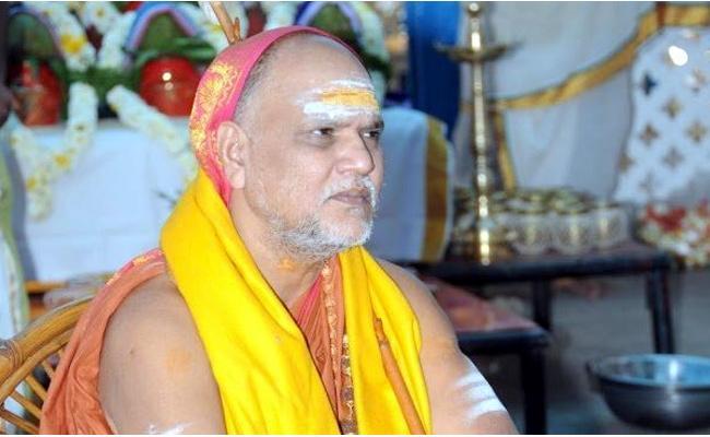 Swaroopanandendra Expressed Condolences Over Death SP Balu - Sakshi