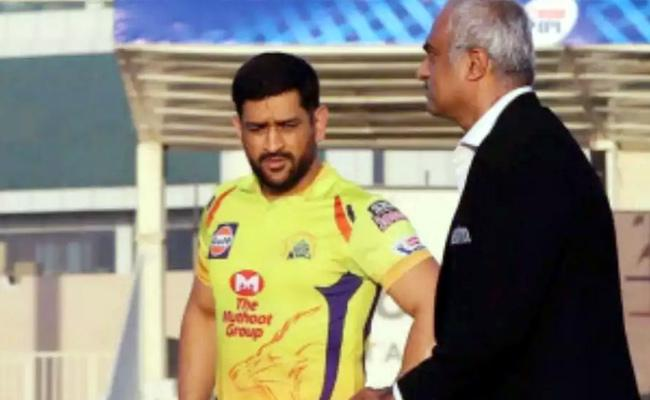 CSK Won The Toss And Elected Field First - Sakshi