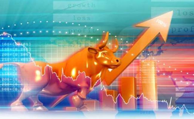 Sensex Gains Over 700 Points As Markets Rebound  - Sakshi