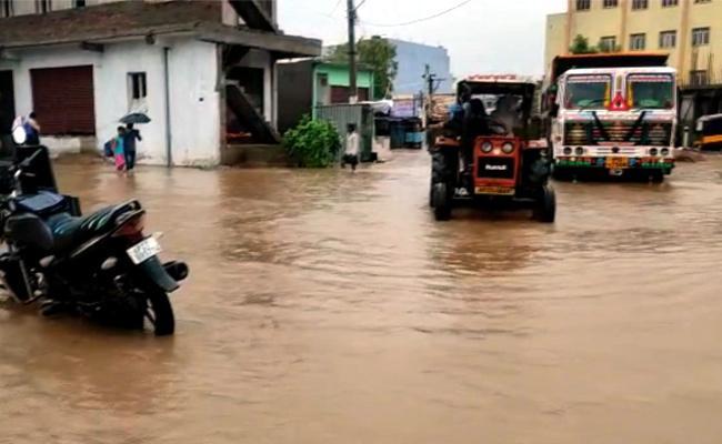 Heavy Rains In Prakasam District - Sakshi