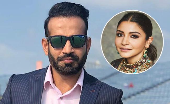 Irfan Pathan Advice for Anushka Sharma After She Slams Sunil Gavaskar - Sakshi