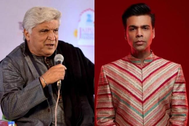 Javed Akhtar Takes Dig at Media Over Karan Johar House Party Video - Sakshi