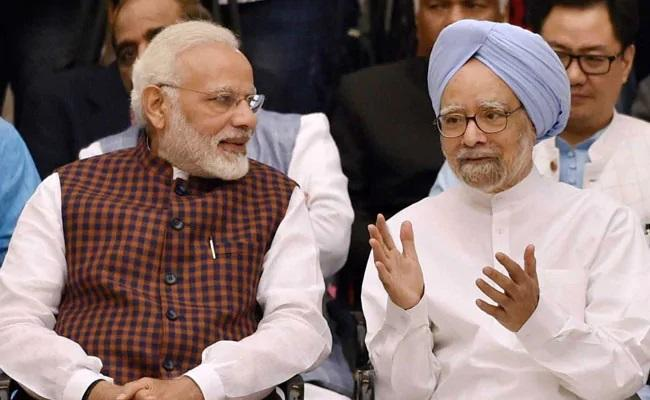 As Manmohan Singh Turns 88 PM Modi Wishes Him - Sakshi