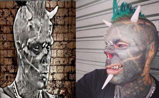 Viral: Brazilian Tattoo Artist Removed His Nose - Sakshi
