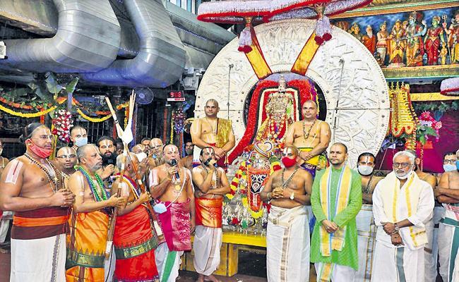 Srivari Salakatla Brahmotsavam At 7th Day In TTD - Sakshi