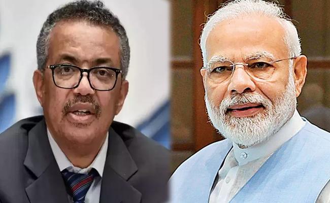 WHO Chief Lauds PM Narendra Modi Over Vaccine Assurance - Sakshi