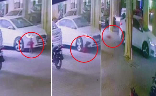 Driver Negligence 18 Months Girl Last Breath In Nizamabad - Sakshi