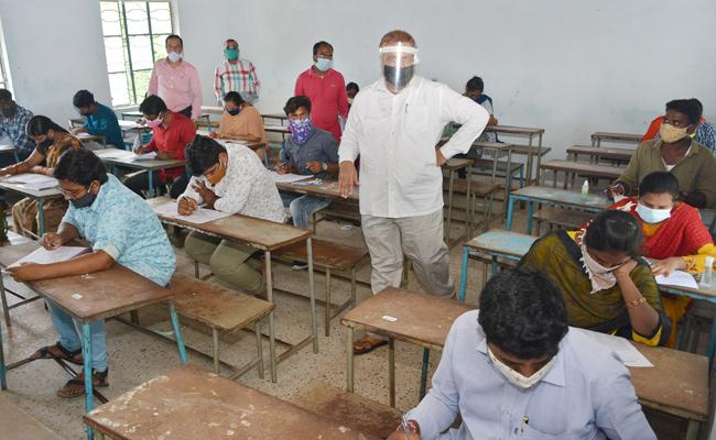 JEE Advanced 2020 Exam Conducted Today - Sakshi