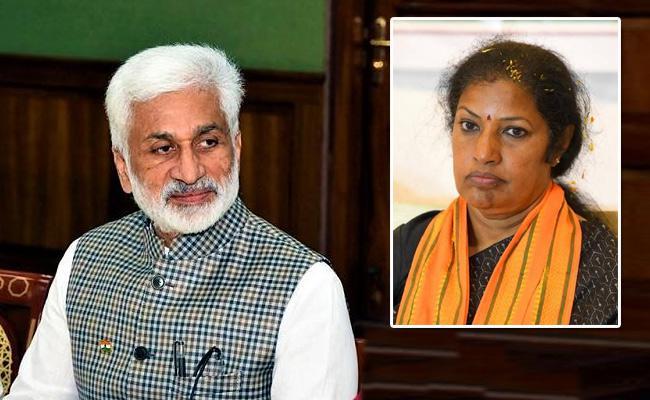 Vijaya Sai Reddy Slams BJP Leader Daggubati Purandeswari  - Sakshi