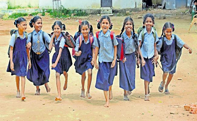 Higher Education For Poor Children With English Medium - Sakshi