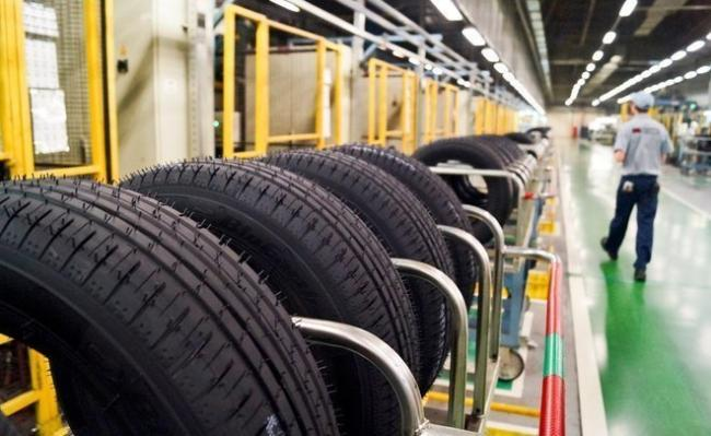 tyres making company shares zoom  - Sakshi
