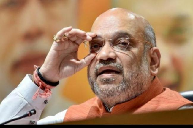 Amit Shah Meets Top Officials to Discuss Key Issues - Sakshi