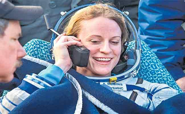 NASA astronaut Kate Rubins Plans To Cast The Vote From The space - Sakshi