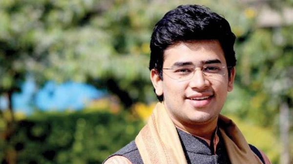 Tejasvi Surya Has Drawn Criticism Over His Terror Hub Remark - Sakshi