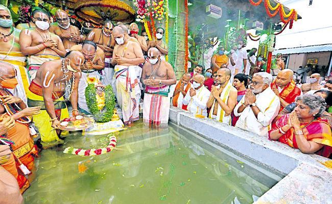 Srivari Salakatla Brahmotsavalu Was Ended - Sakshi