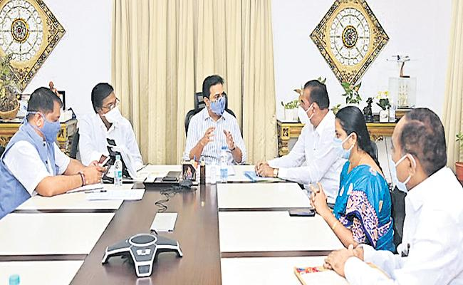 KTR Review Meeting On Problems In Municipalities - Sakshi