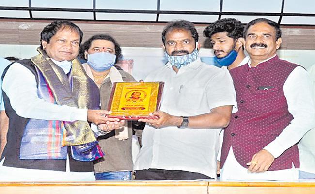 Paidi Jayraj 111 Jayanthi Celebrations Press Meet - Sakshi