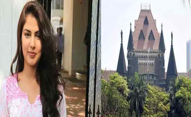 Bombay HCt Reserves Order On Rhea Chakraborty Bail Application - Sakshi