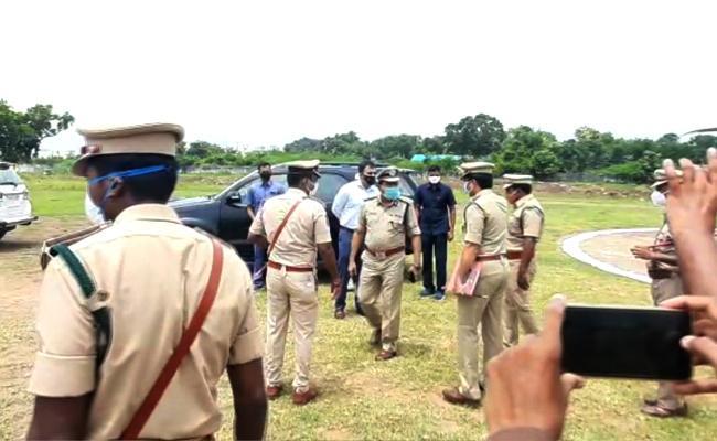 DGP Mahender Reddy Toured In Moist Area - Sakshi